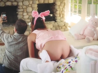 Young Teen Home XXX Uncle Fuck Bunny