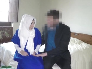 An Arab Immigrant Has No Money So Hotel Manager Will Give Her A Room If Gets Her Pussy
