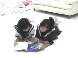 Japanese Teen Schoolgirl Catfight