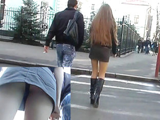 One Of Top Russians Upskirts