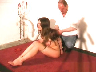 Tied Up Woman Breast Fetish Castigation Scenes In S&m Xxx
