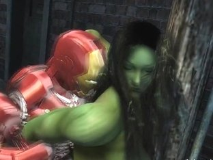 Ironman And She Hulk
