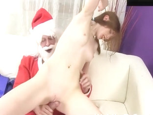 Xmas Santa Claus Fuck Little Daughter!