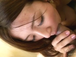 Asian Girl Gets Oral Cumshot