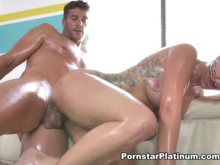 Savana Styles In Slick, Hard Slippery - Pornstarplatinum