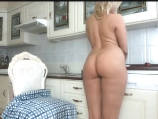 Kitchen Teasing With Heels Part 1