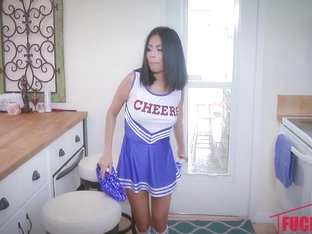 Monica Asis In Hot Little Cheerleader