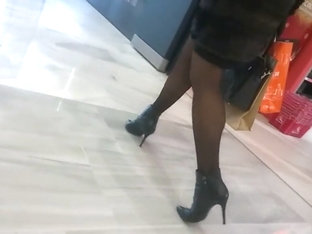 Sexy Heels And Nice Pantyhose