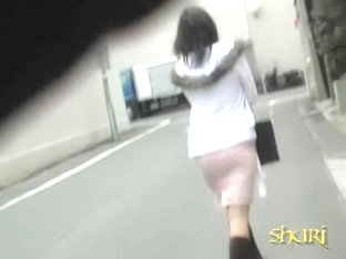 Street Sharking With Japanese Princess Having Her Skirt Taken Masterly