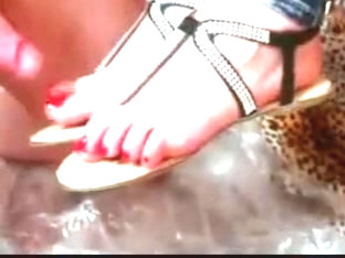 Sandals Shoejob Footjob