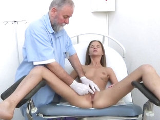 Gyno Examination For Shy Teens Girls. Detailed Full Body And Pussy Medical