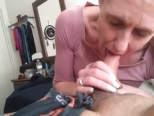 Milf Comes Back To Suck Some Dick