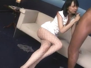 Crazy Japanese Girl Maki Amemiya In Fabulous Nurse/naasu, Fishnet Jav Video