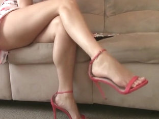 Beautiful Legs, Feet And High-heel Sandals 2
