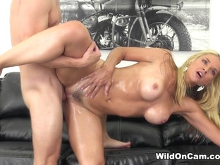 Hottest Pornstar Sarah Vandella In Fabulous Blonde, Big Ass XXX Scene