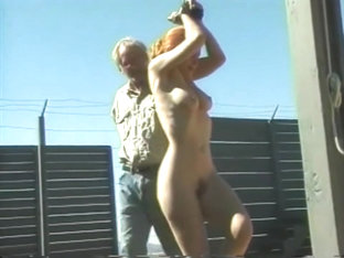 Big Tit Red Head Tied Up And Whipped Outdoors