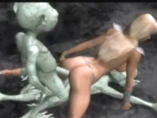 Aliens Group-sex A 3d Princess!