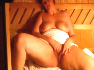 Masturabtion In The Sauna