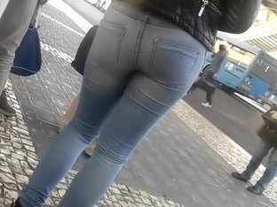 Young Ass In Jeans Amuse Me A Lot