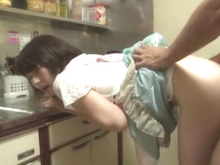 Crazy Japanese Chick Shinobu Kasagi In Best Kitchen Jav Video