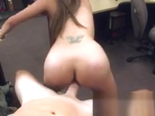 Poor Babe Needs Money And Fucks For It At A Pawn Shop