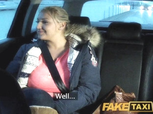 Faketaxi: Blond With Massive Marangos Pays Her Debt