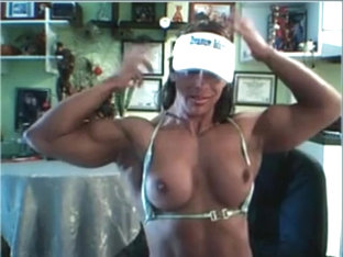 Hot Latina Muscle Cam