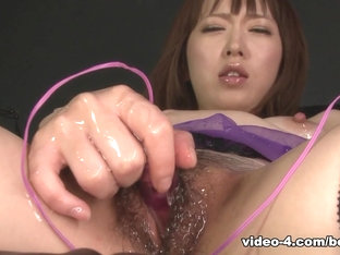 Delightful Babe In Satin Corset, Sayaka Tsuji Is Very Excited - Asiansbondage