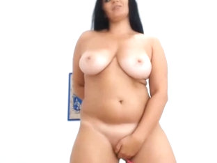 Plumped Up Tits MILF Likes Toy