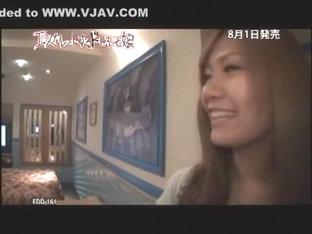 Hottest Japanese slut Kanna Harumi, Anna Mitsui in Crazy Blowjob, Beach JAV movie