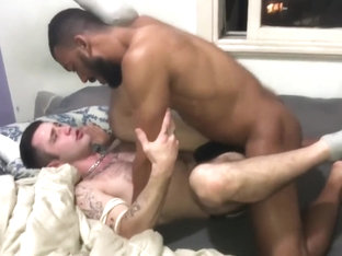 interesting ebony beauty gets her orgasmic twat penetrated excited too with