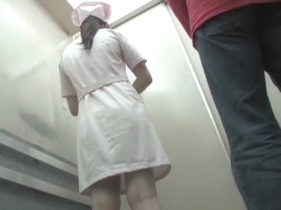 Man Has Sharked Her Skirt In The Lift And Run Away