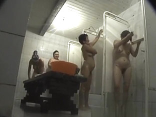Asian Women Spied In Shower Room
