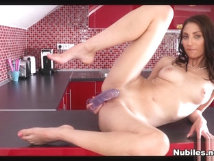 Nicol Sweet In Counter Top Toy - Nubiles