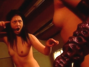 Classic Catfights-asian Topless Fight