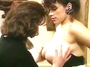 A Brief Moment Between Two French Women.
