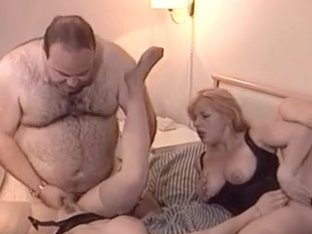 Gorgeous Busty Teen Fucked By Mature Couple