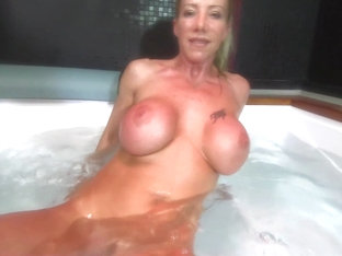 Lara De Santis - Homemade Italian Bitch Spreading Tits Ass And Pussy And Masturbate Underwater In .