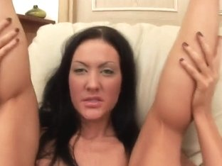 Dirty Slut Is Fingering Her Hungered Snatch