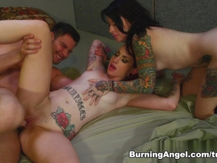 Crazy Pornstars Seth Gamble, Miss Genocide, Sheena Rose In Amazing Threesomes, Cunnilingus Porn Sc.