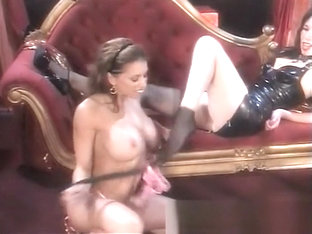 Sexy Young Chick Gets Her Lovely Feet Licked By A Horny Dominatrix