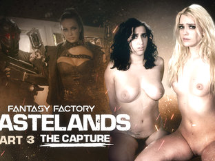 April Oneil,abigail Mac,kenna James In Fantasy Factory: Wastelands (episode 3) - Girlsway
