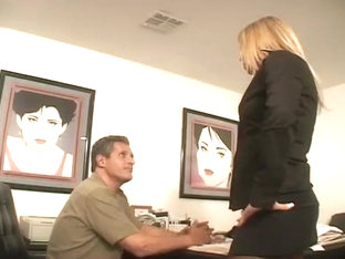 Lucky Hunk Bangs Babysitter And Wife