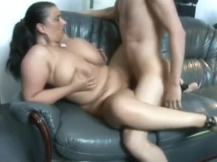 Young Guy Fucks Mature BBW With Huge Tits