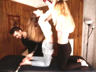 Russianfetish - Anait And Marpha Return - Crazy Upper Body Tickling + Feet