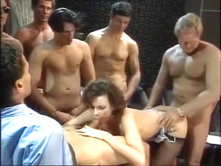 Tina Tyler Gangbang. Lots Of Spunk To Finish!