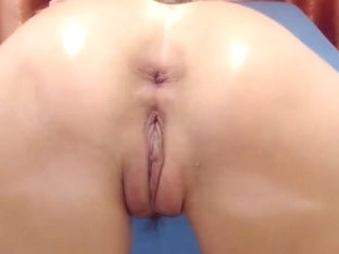Gaping Asshole Creamy Prolapse Pushing And Farting