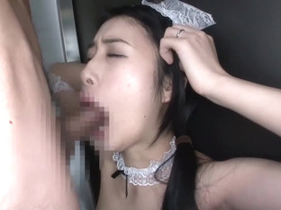 Fabulous Japanese Model In Amazing Blowjob, Maid Jav Video