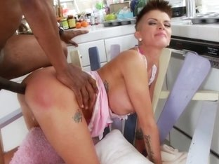 Bigtitted Milk Enema Babe Assfucked By Bbc