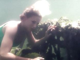 ébène sexe sous-marin